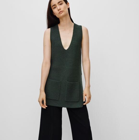 Aritzia Wilfred Chartres Sleeveless Wool Sweater